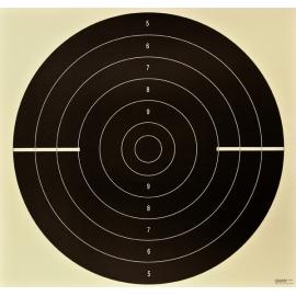 Tarcza pistolet szybkostrzelny, karton LUX, 52x55