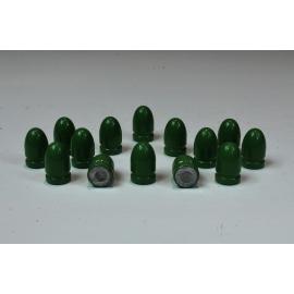 Pociski 9mm (.356) 124 grain/8 gram, RN BB, ARES GUN