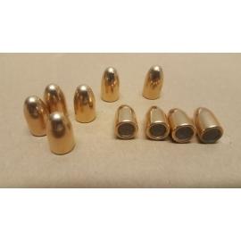 Pociski 9 mm (.355) 124 grain/8 gram, FMJ CuZn10, LIMIT-Z
