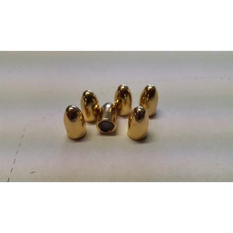Pociski 9 mm 124 grs/8 gr. FMJ RN, ALSA PRO