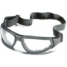 Okulary ZEKLER 80 bezbarwne, oprawki czarne