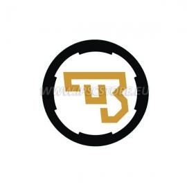Naklejka z logo CZ, mała