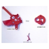 Zestaw części do prasy LEE Breech Lock Pro (czerwone)