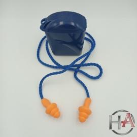 Wielorazowe zatyczki do uszu 3M na sznurku