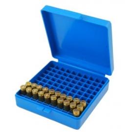 Pudełko Dillon na 100 szt. amunicji .38/.357